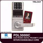 Alarm Lock Trilogy PDL3000IC Push Button Lock