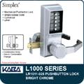 KABA L1000 Mechanical Push Button Lock Manchester Ct